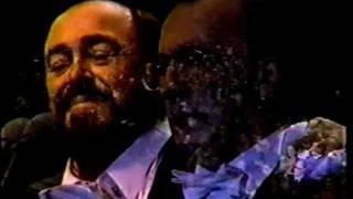 Luciano Pavarotti - O Sole Mio - En Lima - Perú - Bravo Benigno