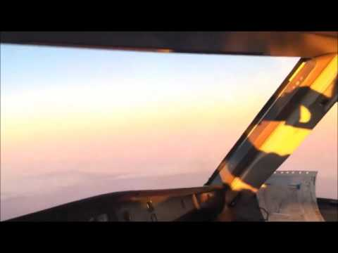 pilot sees the sun and the moon show up together