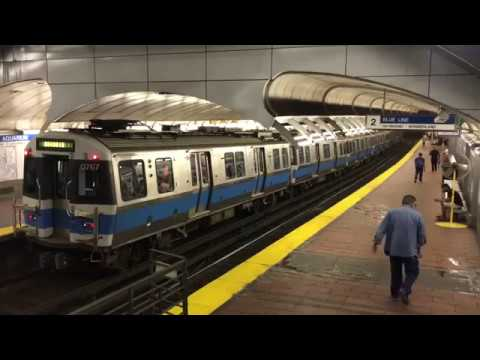 Boston T: All Lines at Park St., State St., Downtown Crossing (1080p60)