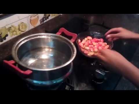 Preparation of Bakery Cherry