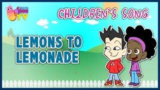 ♫♪ LEMONS TO LEMONADE ♫♪ children's song cartoons
