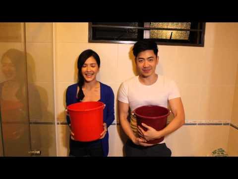 Nick钟盛忠 Stella钟晓玉 ALS Ice Bucket Challenge 公益活动