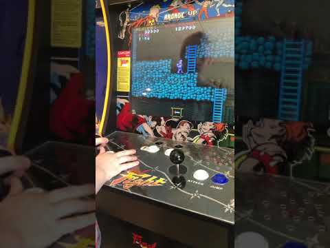 5 Year Old's Run on Ghosts' N Goblins Arcade1up from J Weave