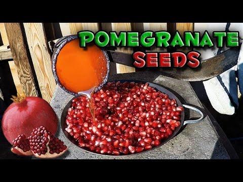 Molten Copper vs Pomegranate Seeds