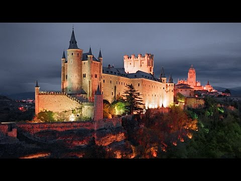 Segovia Castle - Alcazar de Segovia - Castile and Leon, Spain