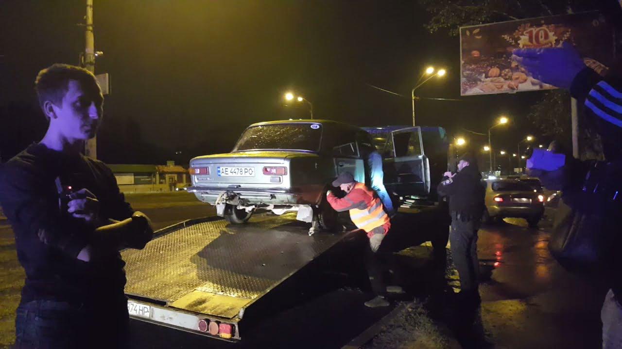 Бухой в хлам Цыган на Копейке на Донецком шоссе