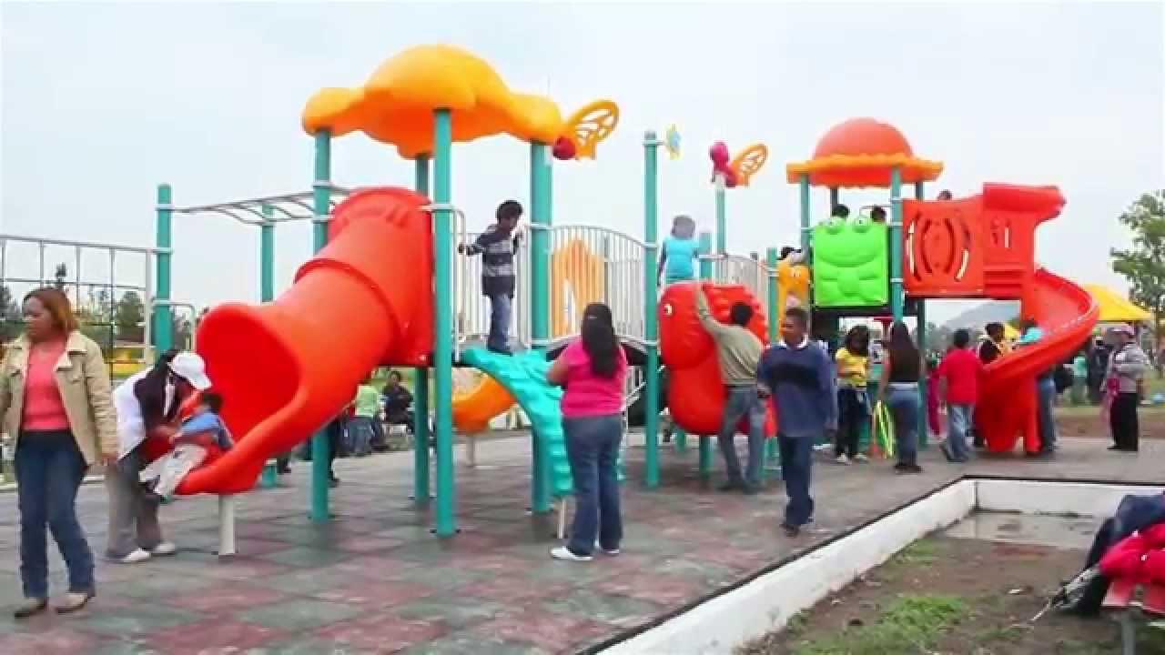 Juegos infantiles para parque jardines plazas y delegaciones youtube for Juegos para jardin nios