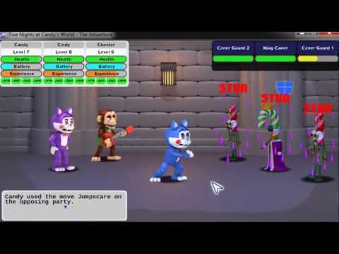 """Five Nights At Candy's World - The Adventure """" The End Is Very Hard """""""