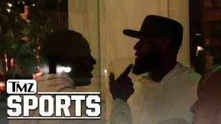 Draymond Green All Smiles with LeBron Before Alleged Tristan Thompson Fight | TMZ Sports