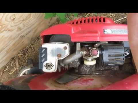Lawn Mower Won T Start How To Fix A Lawnmower That Starts