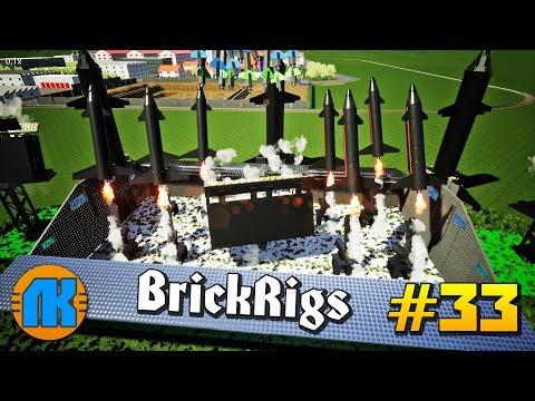 ТЕРМОЯДЕРНАЯ РАКЕТНАЯ БАЗА \ Brick Rigs \ #33 \ СКАЧАТЬ БРИК РИГС !!!