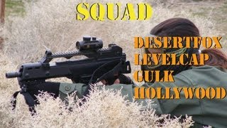 CTF Squad with Levelcap gaming and WarFighter Airsoft. G36c Fire Team Gameplay (Gameplay Commentary)