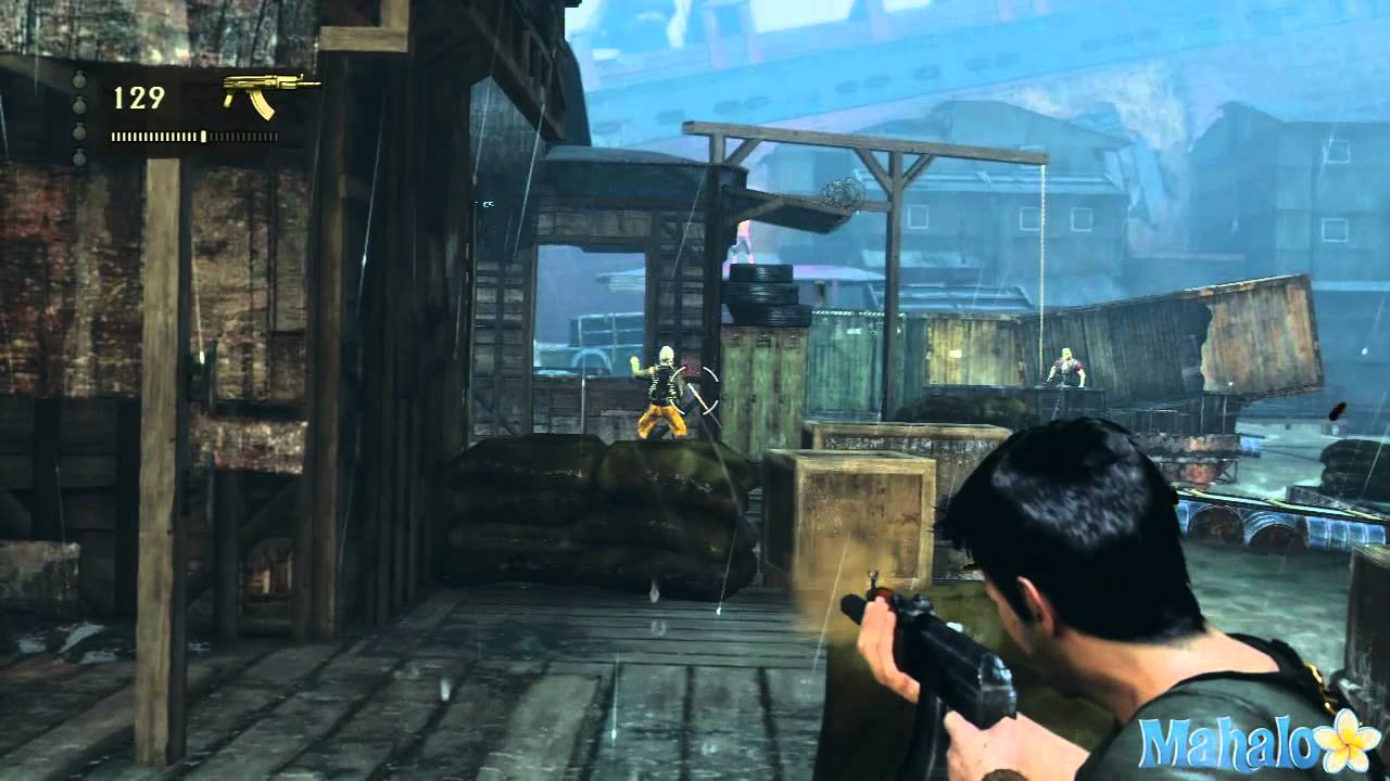 Uncharted 3 Walkthrough - Chapter 13: Rough Seas - YouTube