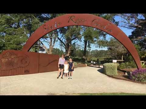 Victoria State Rose Garden Melbourne
