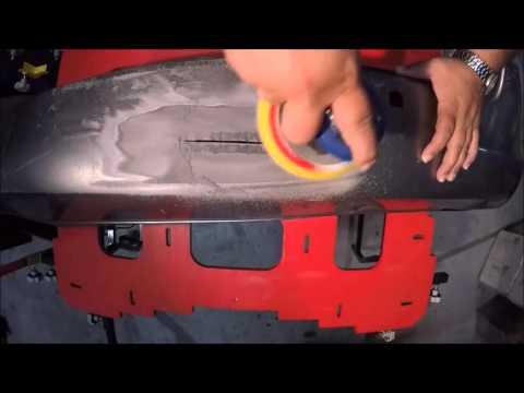 STRUCTURAL PLASTIC BUMPER REPAIR