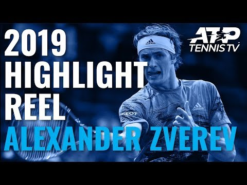 ALEXANDER ZVEREV: 2019 ATP Highlight Reel