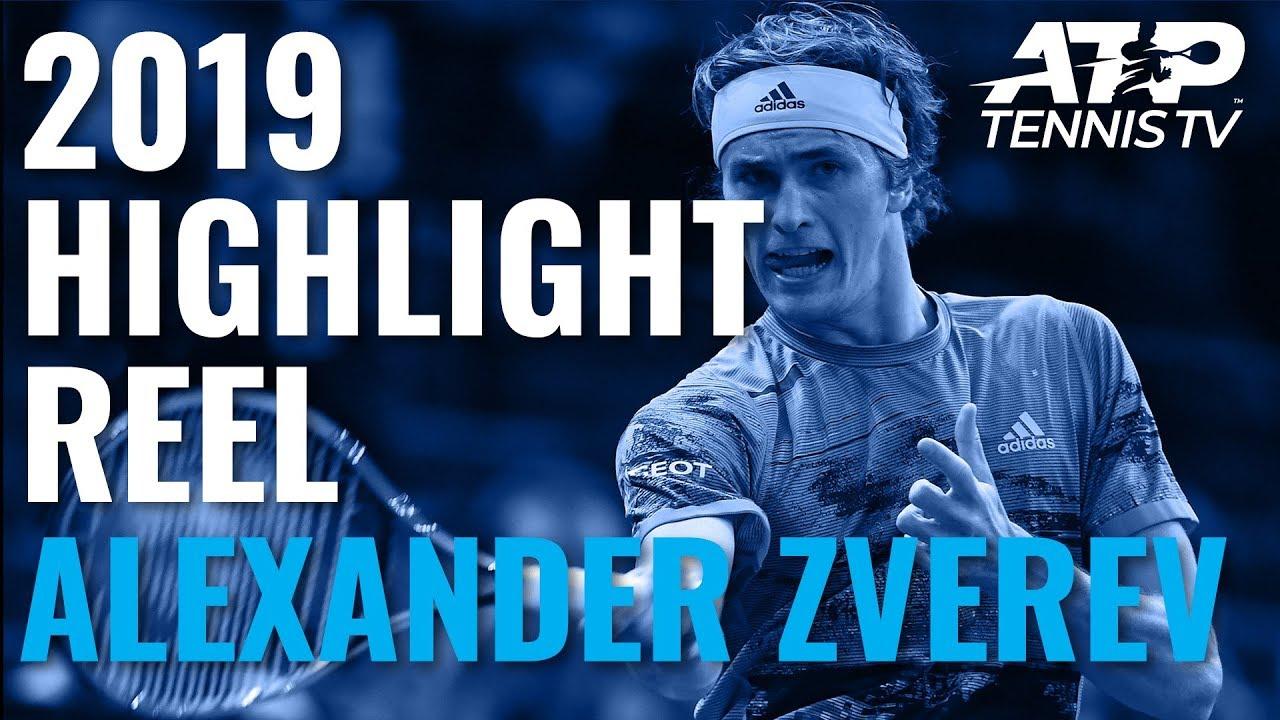 Alexander Zverev : 2019 ATP Highlight Reel