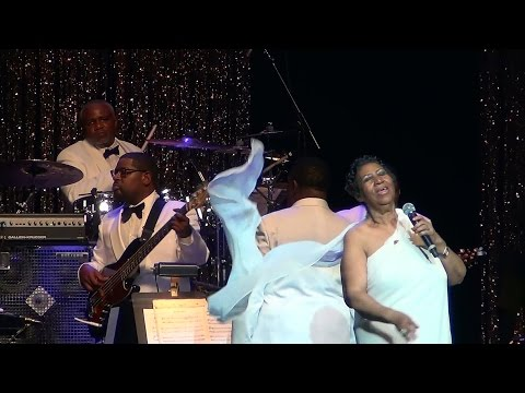 Aretha Franklin - Respect in NYC 2014