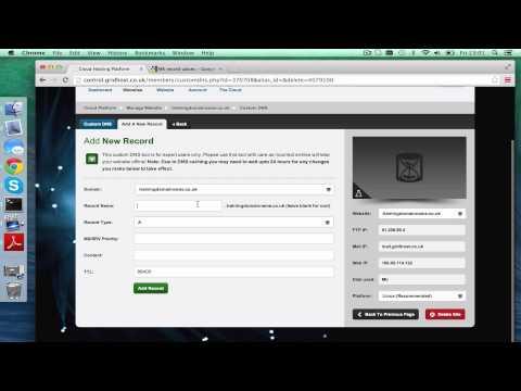 Cloud | Setting Google Mail on a Domain | Tsohost.com