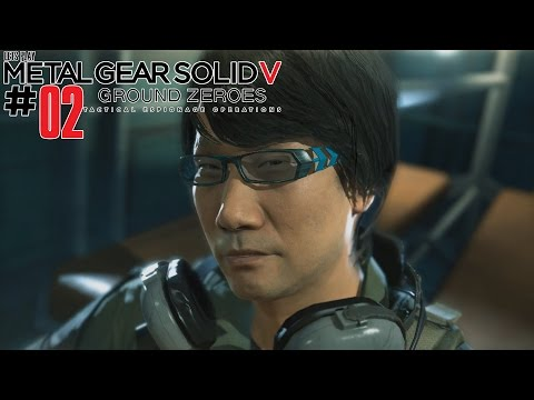 METAL GEAR SOLID 5 ★GROUND ZEROES★ #02 [HD60/Ger] - Hideo is save