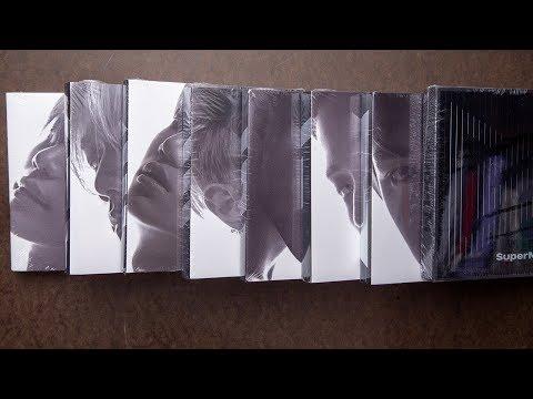 Unboxing | SuperM 1st Mini Album - 'SuperM'