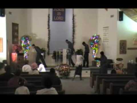 Resurrection Day Service Announcement-T.O.P. MIMES & PRAISE DANCERS-Destroy This Temple