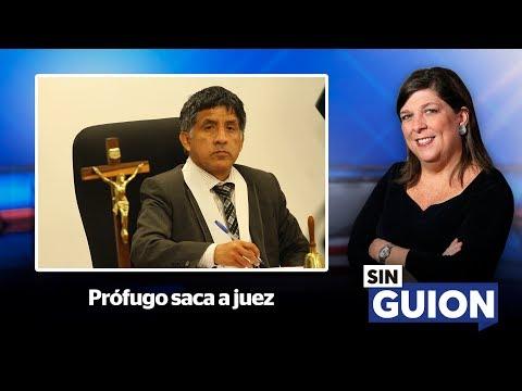 Prófugo saca a juez - SIN GUION con Rosa María Palacios