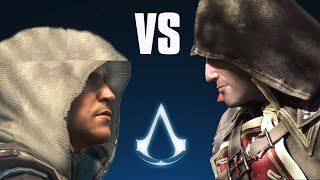 Repeat youtube video Assassin's Creed: Rogue vs Black Flag - Side by Side comparison