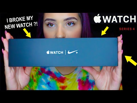 APPLE WATCH SERIES 4 UNBOXING & REVIEW