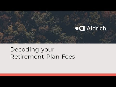 Decoding your Retirement Plan Fees