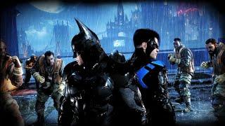 Batman Arkham Knight Gotham Knights Challenge Map Batman + Nightwing Gameplay