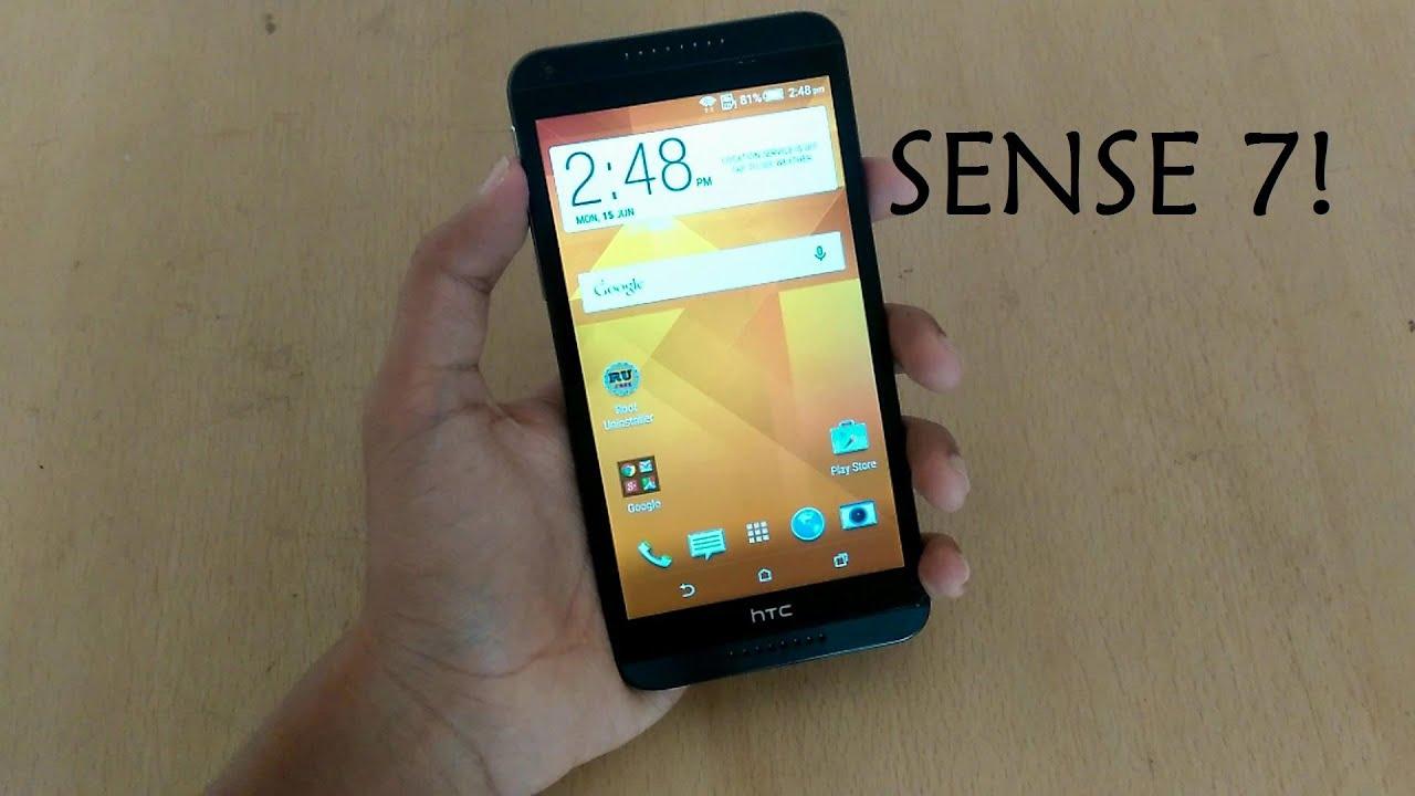 Get Sense 7 UI on HTC Desire 816! (Android 5.0!)