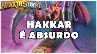 HEARTHSTONE - HAKKAR É ABSURDO! (STANDARD TOGWAGGLE CORRUPTED DRUID)
