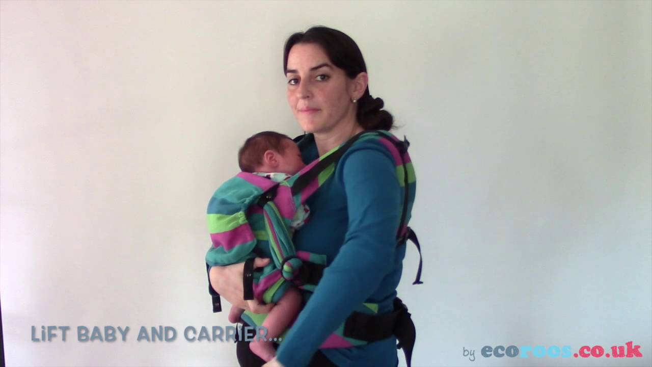 a6d30d698a3 Breastfeeding in Sling  Buckle baby carrier or SSC (Emeibaby) with newborn
