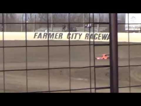3/30/14 Farmer City Raceway Practice 5