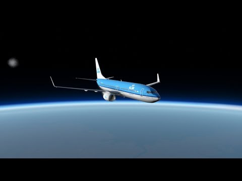 Flying A 737 To Space