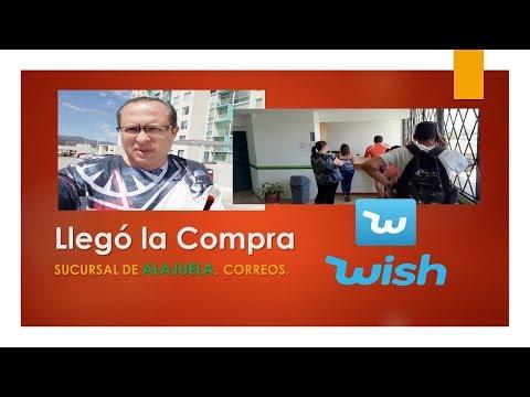 Soy Tico Llego La Compra En Wish Hasta Alajuela Costa Rica