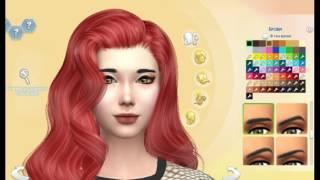 Создание персонажа !Sims 4!!!