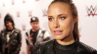 Alena Gerber über die Divas Revolution: WWE Live in Stuttgart (Red Carpet)