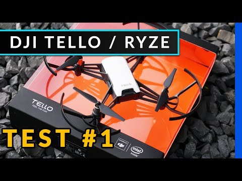 Dji Tello Drohne für 100€ von Ryze Tech – Unboxing & Test #1 [deutsch]