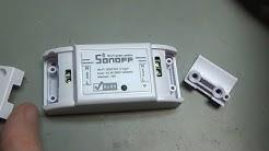 BitBastelei #296 - WiFi-Schalter Sonoff Basic - eWeLink, Tasmota, PlatformIO/Android