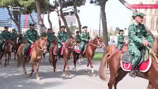 Bakı: hərbi parada hazırlıqdan ən sonra görüntülər - Erdoğan gəlir