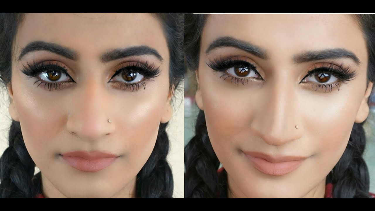 How To Contour A Big Nose Make Your Nose Appear Thinner And