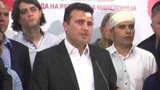 Прес на СДСМ по настаните во Собранието