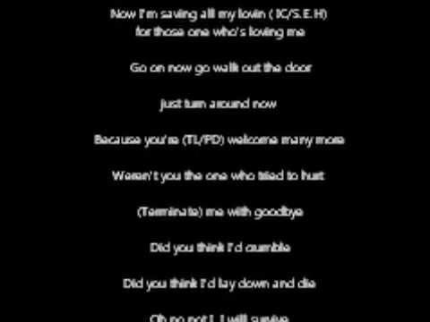 I will survive (OAT Karaoke)
