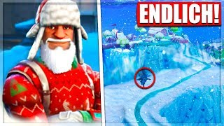 Enfin! La saison de la carte des neiges7 Skin Christmas LEAK Fortnite Bataille Royale