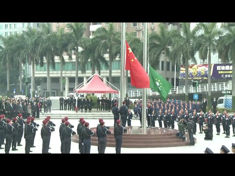 Macao Celebrates 16th Anniversary of Return to China