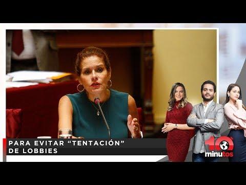 Aráoz pide que sueldo de congresistas se ajuste al costo de vida - 10 minutos Edición Tarde