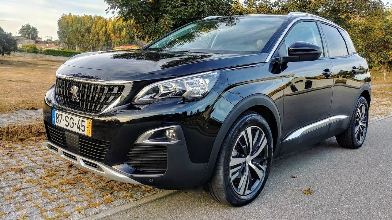 New peugeot 3008 1 2 puretech 130cv walkaround and for Interieur 3008 2017