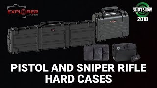 Explorer Cases Pistol and Sniper Rifle Hard Cases - SHOT Show 2018 Day 3